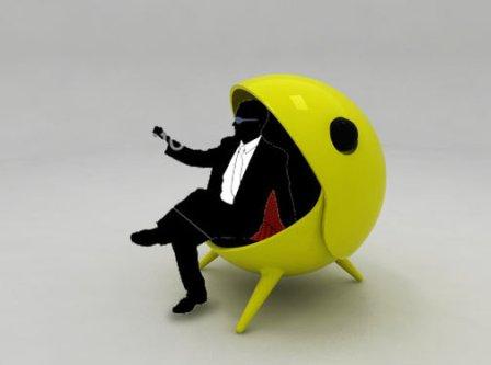 ein haltbarer designer sessel styleagent. Black Bedroom Furniture Sets. Home Design Ideas